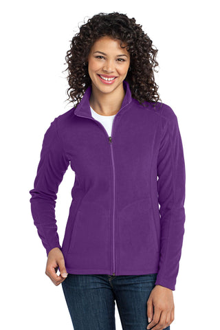 Port Authority Ladies Microfleece Jacket. L223