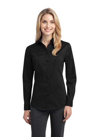 Port Authority Ladies Stretch Poplin Shirt. L646