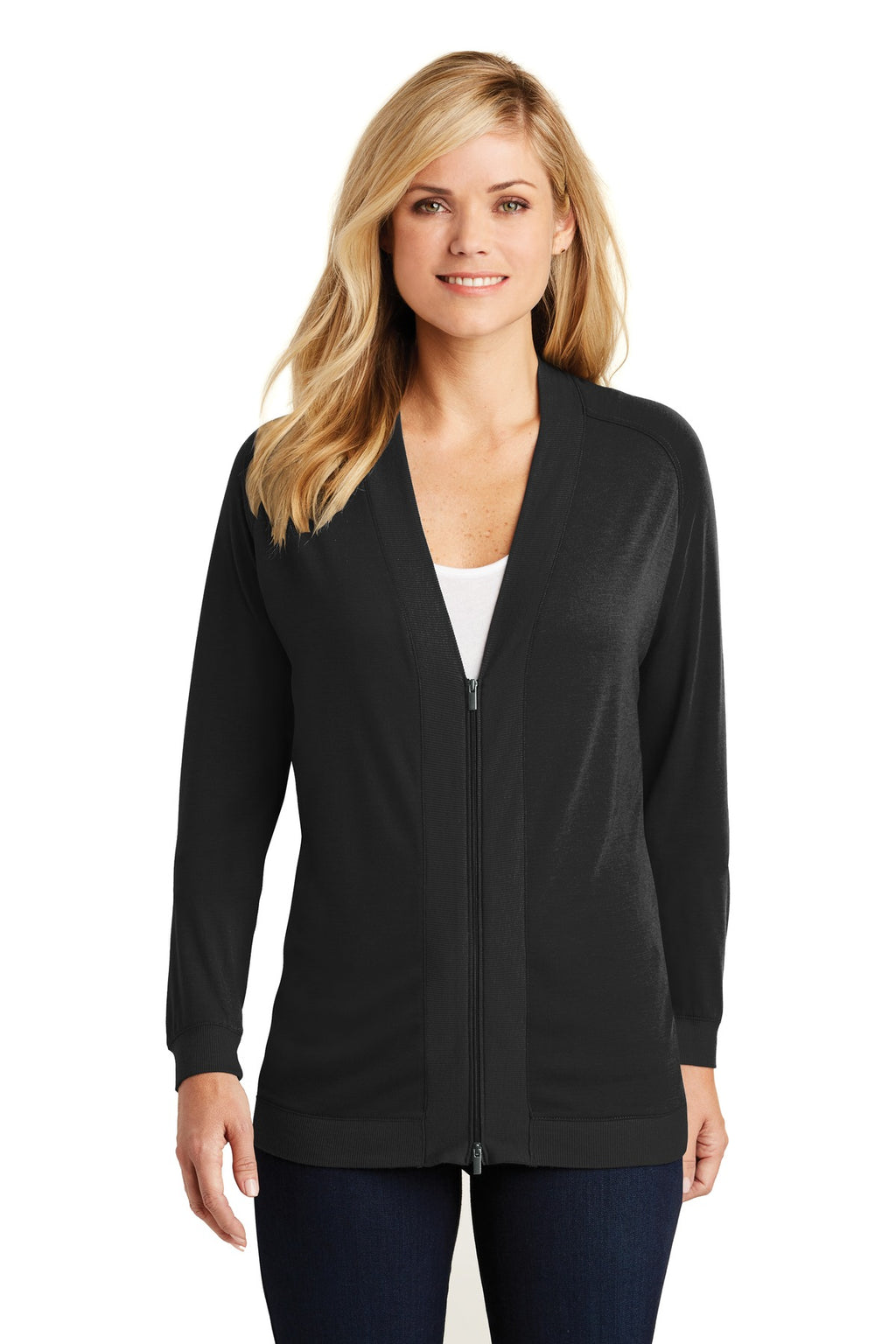 Port Authority Ladies Concept Bomber Cardigan. LK5431