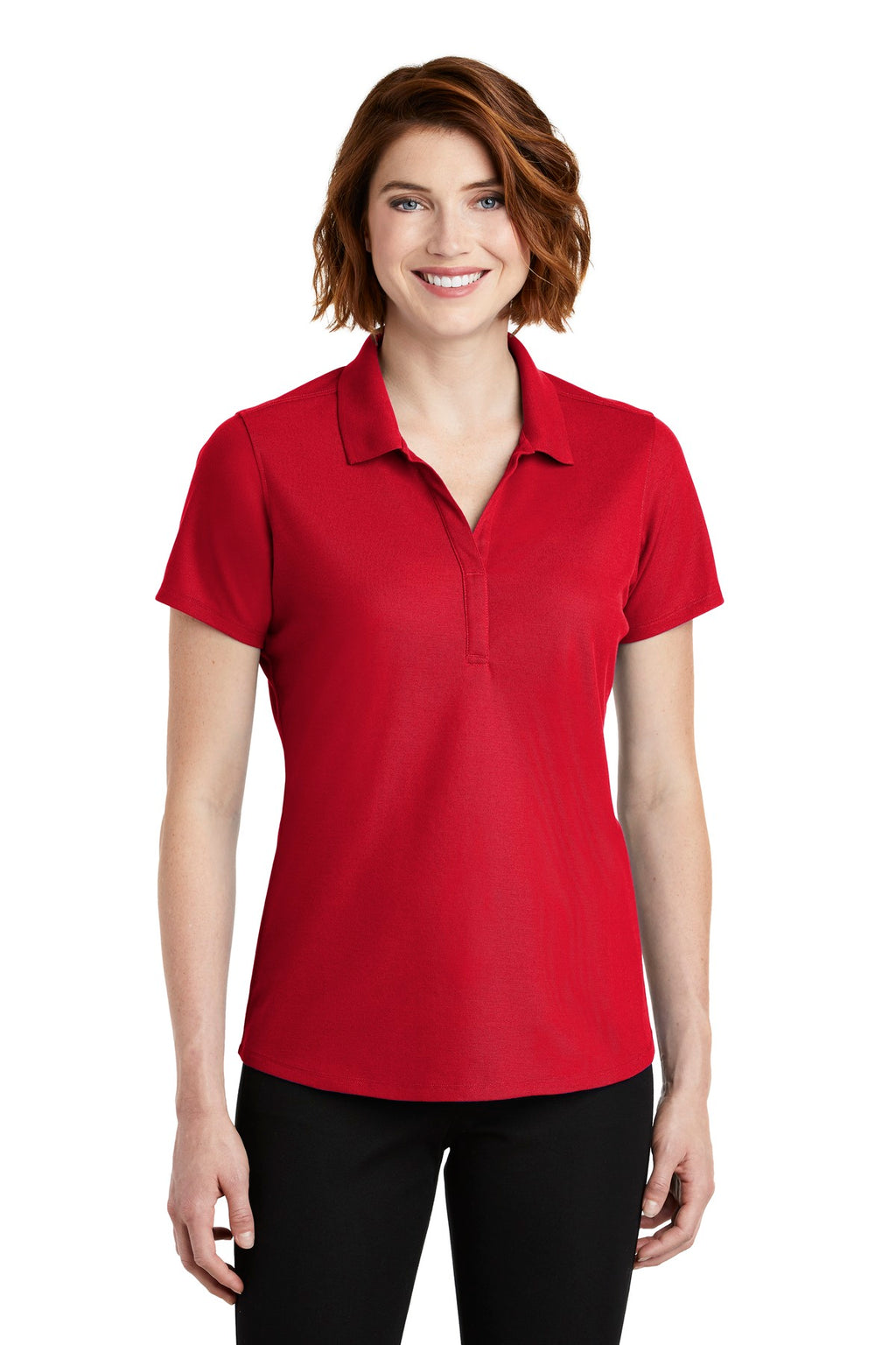 Port Authority Ladies EZPerformance Pique Polo. LK600