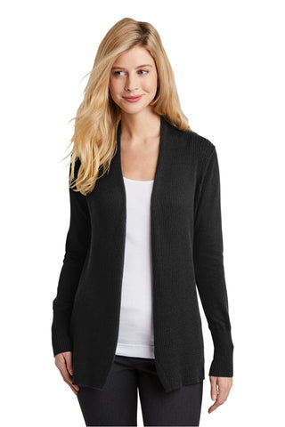 Port Authority Ladies Open Front Cardigan Sweater. LSW289