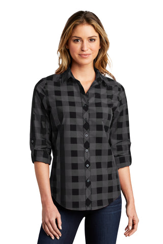 Port Authority Ladies Everyday Plaid Shirt LW670