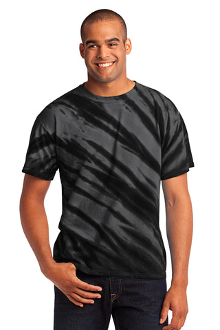 Port & Company - Tiger Stripe Tie-Dye Tee PC148