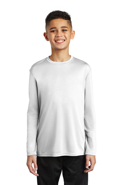 Port & Company Youth Long Sleeve Performance Tee PC380YLS