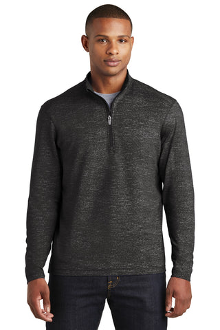 Sport-Tek Sport-Wick Stretch Reflective Heather 1/2-Zip Pullover ST855
