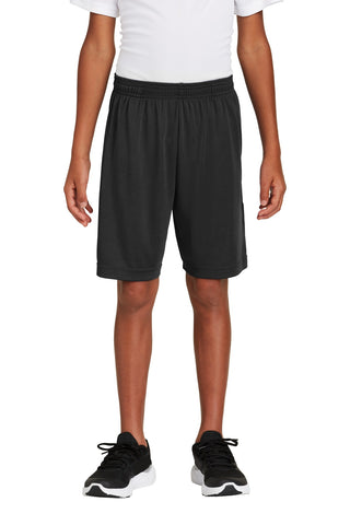 Sport-Tek Youth PosiCharge Competitor ™ Pocketed Short YST355P