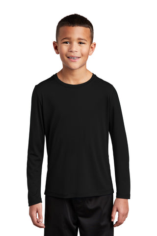 Sport-Tek Youth Posi-UV ™ Pro Long Sleeve Tee YST420LS