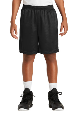 Sport-Tek Youth PosiCharge Classic Mesh Short YST510