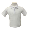 ST. COMGALL'S NURSERY POLO - WHITE