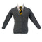 PREMIUM KNITTED CARDIGAN - GREY
