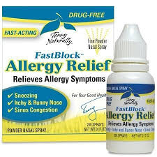 Fast Block Allergy 200 sprays Terry Naturally