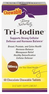 Tri Iodine 500mcg chewable Terry Naturally