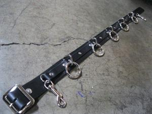 5 Ring Bondage Belt