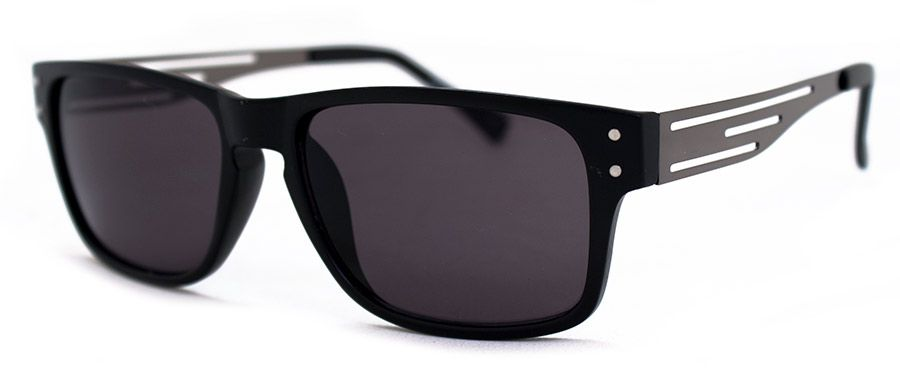 Construction – Matte Black Sunglasses