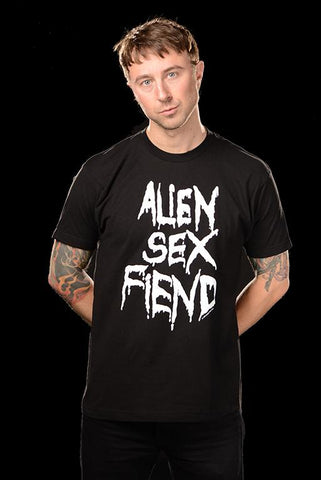 Alien Sex Fiend Logo T-shirt