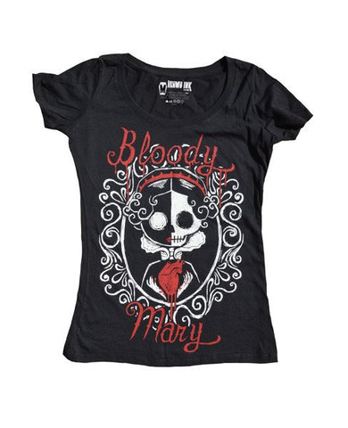 Bloody Mary Scoop Tee - Women