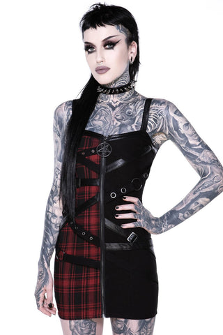 Bury Me Bondage Dress [TARTAN]