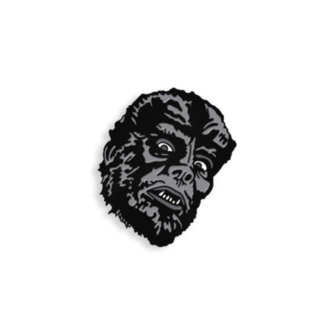 Werewolf - Black & White Maniac Monsters Enamel Pin