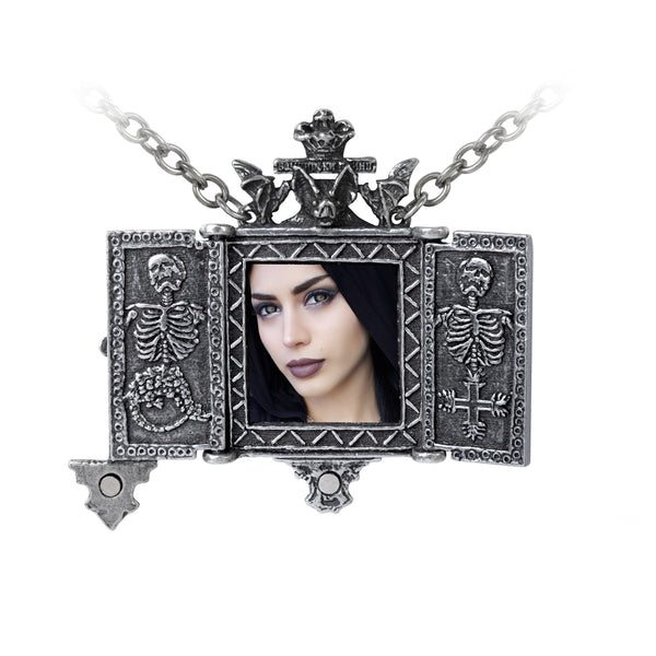 Balkan Triptych Icon Locket