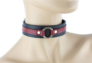 Middle Ring Strap Choker