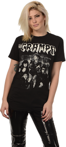 The Cramps 1990 Group Photo T-Shirt