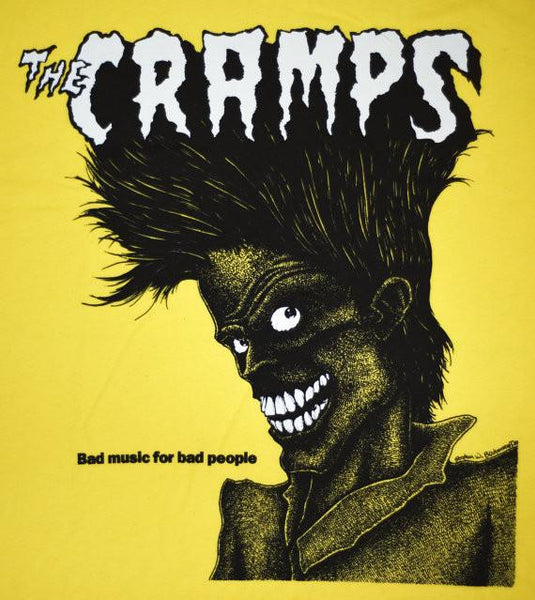 Cramps Bad Music Yellow