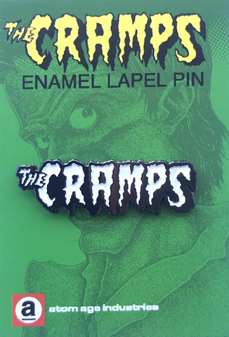 Cramps Logo Enamel Lapel Pin