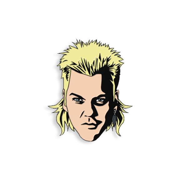 David from Lost Boys Enamel Pin