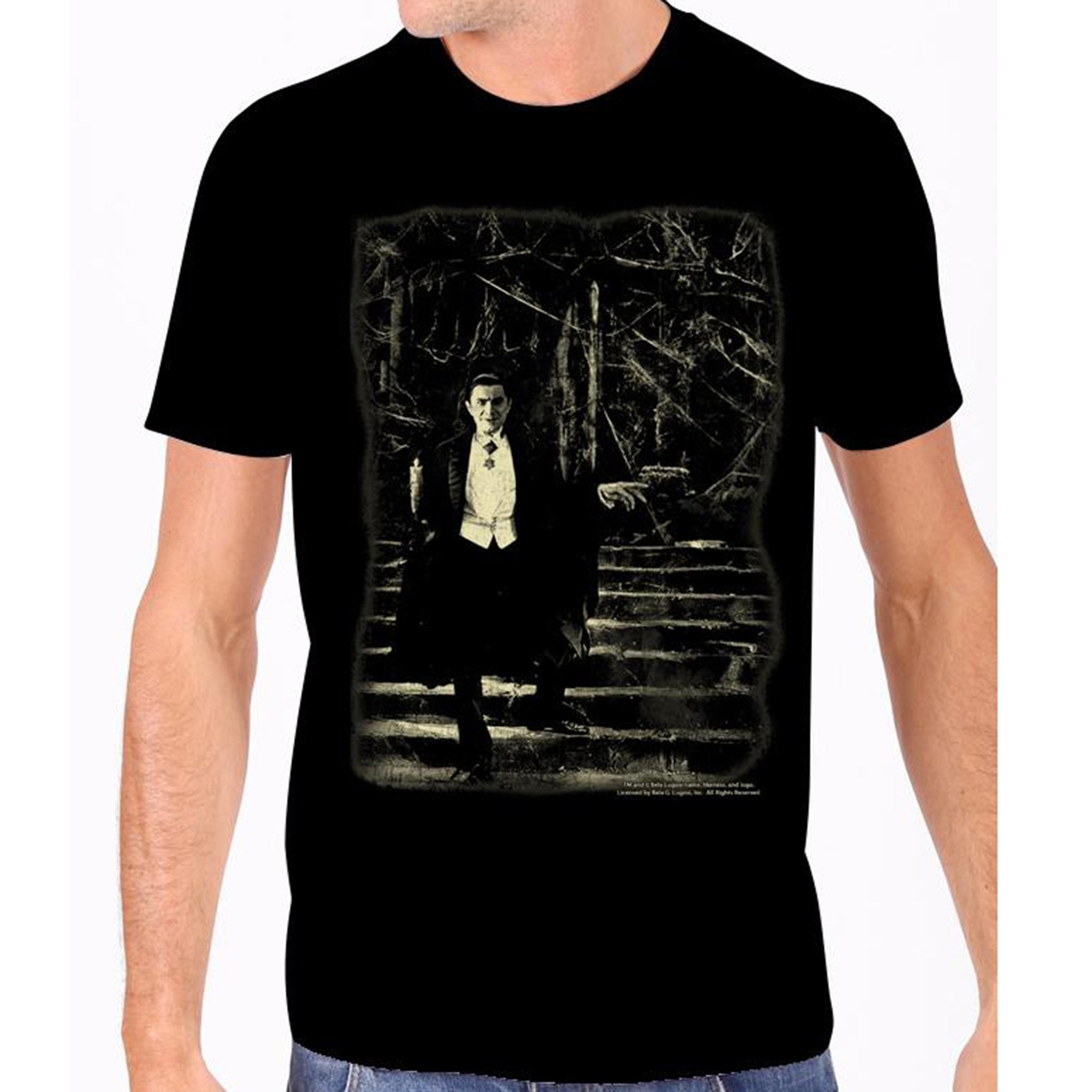 Dracula Glow in the Dark Men's Tee