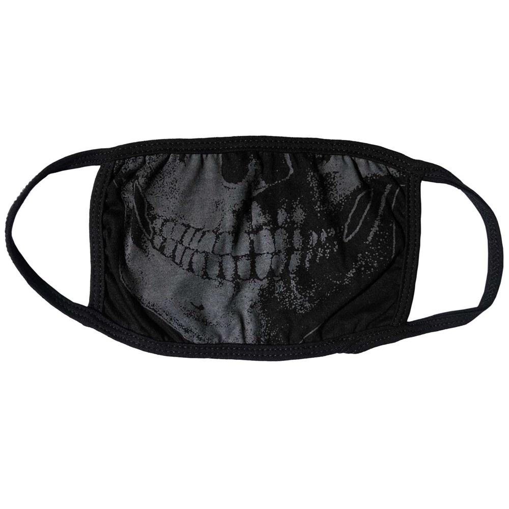 Skull Death Grey Face Mask