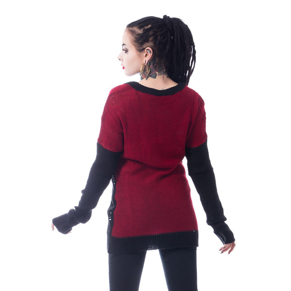 Fraction Top – Black/Red