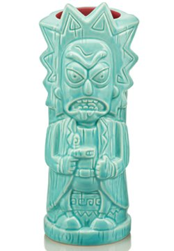 Rick and Morty- Rick 15oz Tiki Mug