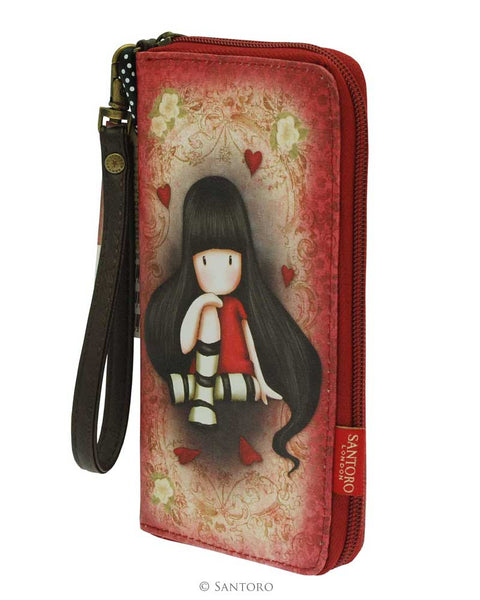 Gorjuss Large Zip Wallet - The Collector