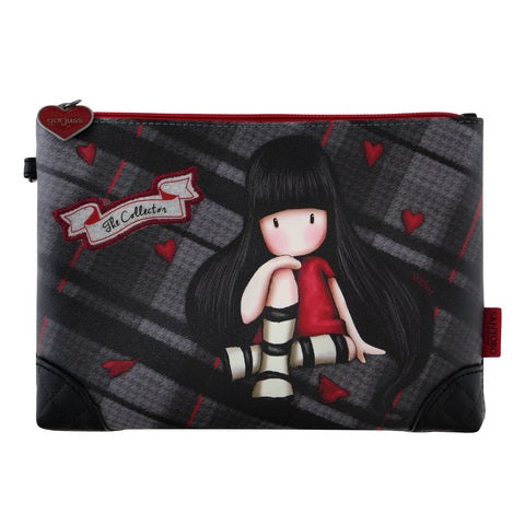 Gorjuss Tartan Accessory Pouch - The Collector