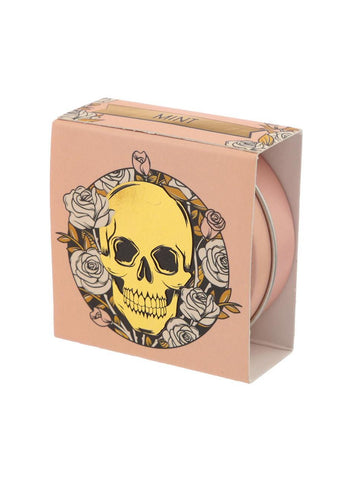 Gothic Gifts Skull & Roses Mint Lip Balm Tin