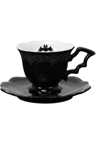 After Midnight Tea Cup & Saucer