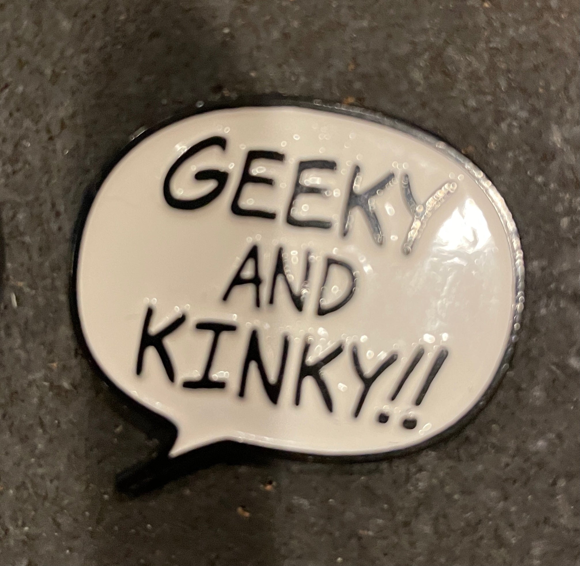 Geeky and Knky - Black and White