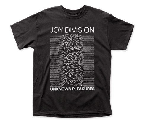 Joy Division – Unknown Pleasures - Black