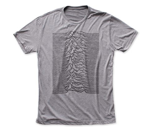 Joy Division – Unknown Pleasures - Gray