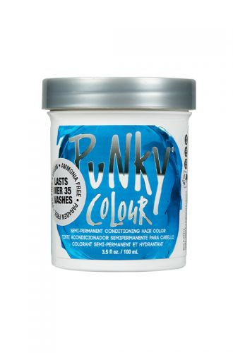 Punky Colour, Semi-Permanent Conditioning Hair Color, Lagoon Blue, 3.5 fl oz