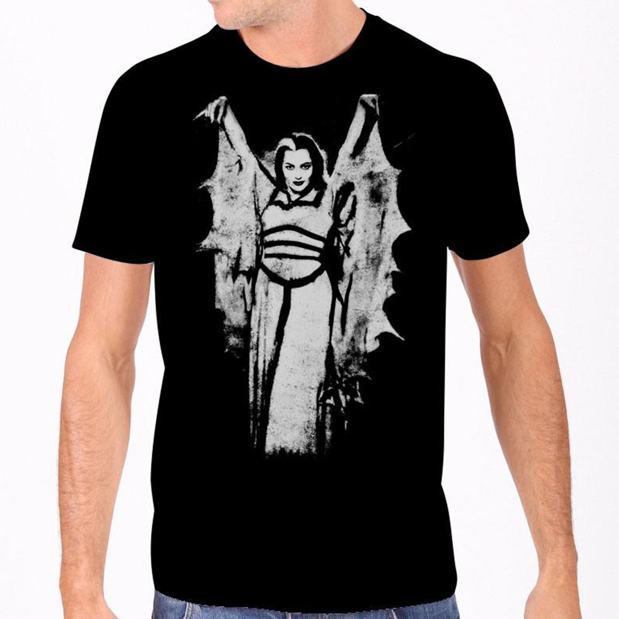Lily Munster Wings Men's Tee