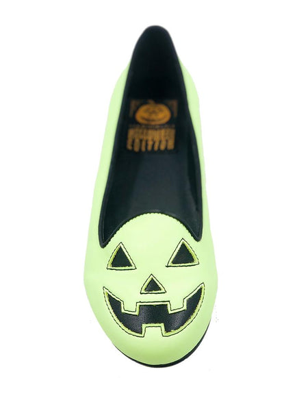 Lydia Jackolantern Green Glow-in-the-Dark