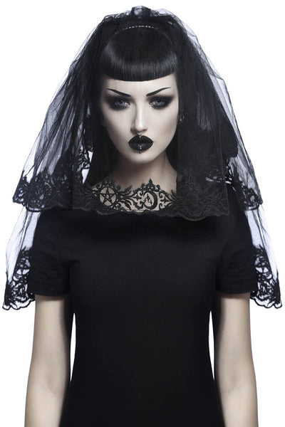 Mystic Mourning Veil