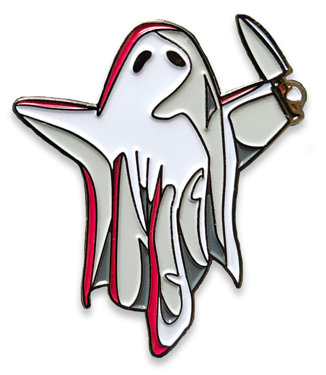 Creepy Cute Ghost Enamel Pin