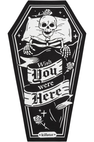 One Wish Coffin Towel