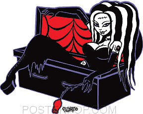 Pigors Coffin Cutie Sticker