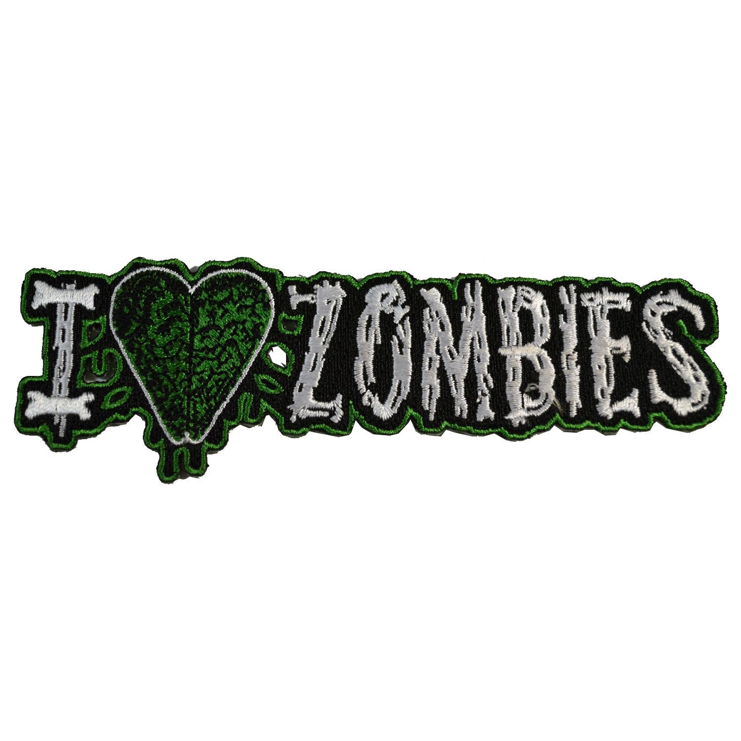 I Heart Zombies Patch