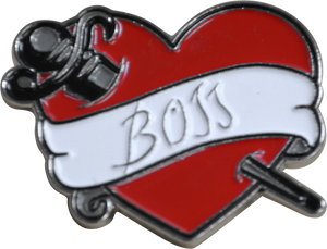 "Rocky Horror Picture Show ""Boss"" Frankfurter Tattoo Enamel Pin"