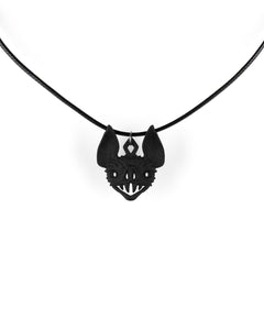 Vampire Bat Choker in Black