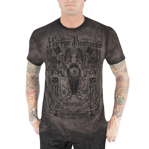 Horror Business Men's Tee (Distressed)